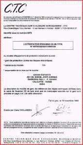 CTC Certificate